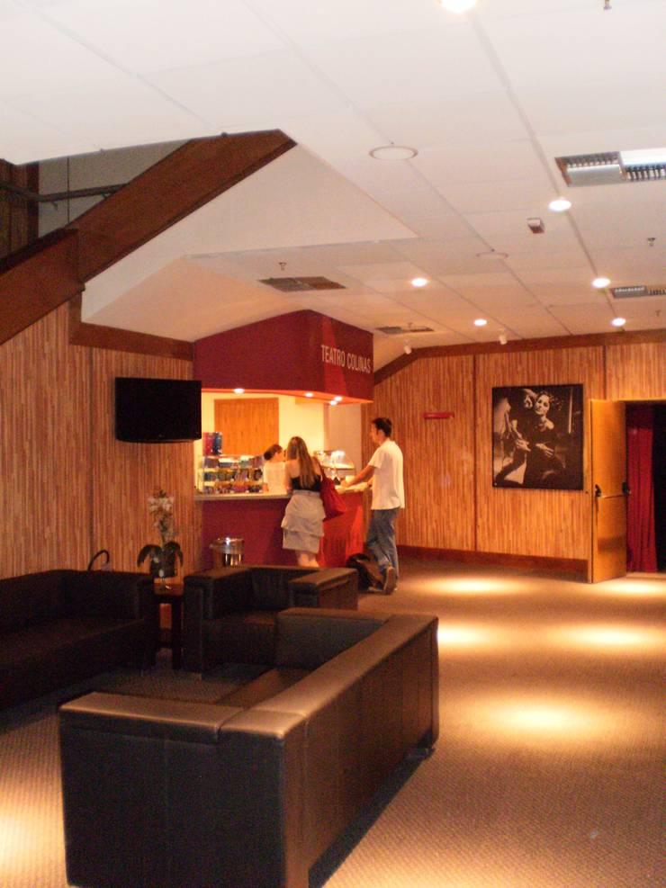 Teatro Colinas: Lojas e imóveis comerciais  por ANALU ANDRADE - ARQUITETURA E DESIGN