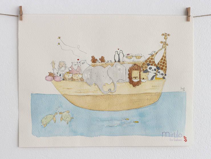 Arca de Noé:   por Mirtilo for babies