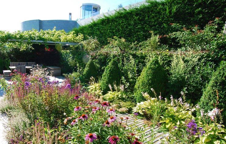 moderne Tuin door Lustenberger Schelling Landschaftsarchitektur
