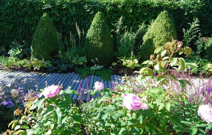 Auffrischung am  See: moderner Garten von Lustenberger Schelling Landschaftsarchitektur
