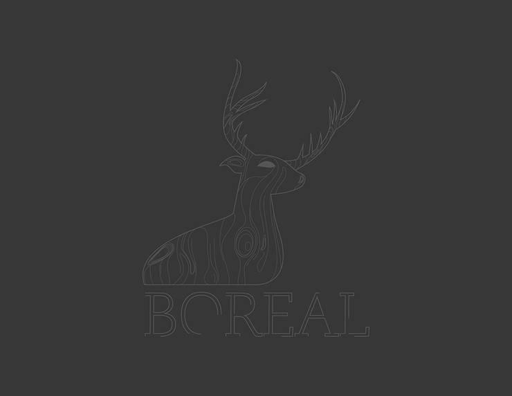 boreal: Locales gastronómicos de estilo  por Adrede Diseño