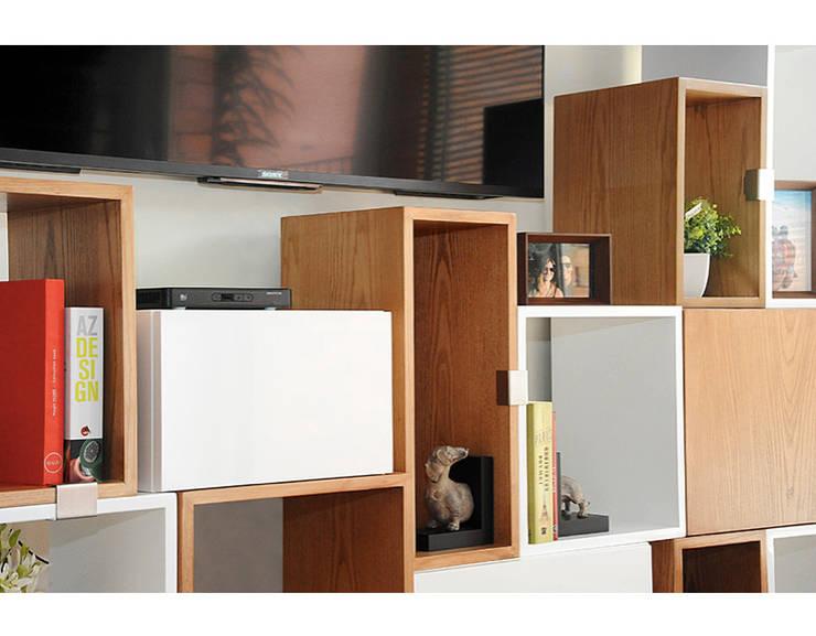 Bilioteca Modular:  de estilo  por Redesign Studio, Moderno