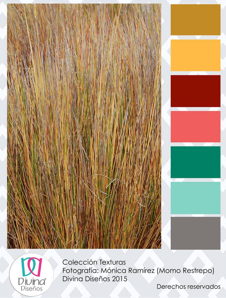 Carta de color Texturas - Trigo:  de estilo  por Divina Diseños Decoración, Moderno