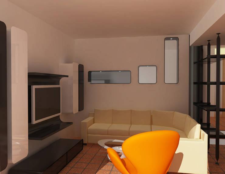 Arredamento d interni per villa unifamiliare a como for Architetto per interni