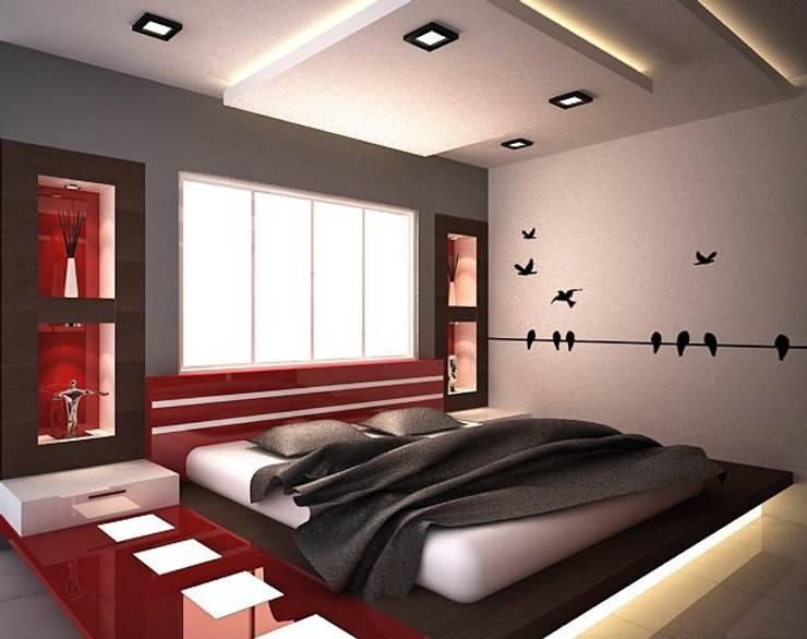 Beautiful Bedroom:  Bedroom by  Interior Design