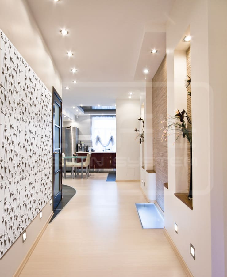 Panele Dekoracyjne 3D - Loft Design System - model Rose Garden: styl , w kategorii Ściany i podłogi zaprojektowany przez Loft Design System