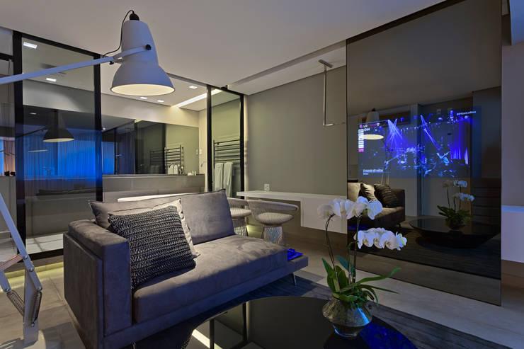 Suíte Presidencial   Mercure Vila da Serra – Belo Horizonte: Hotéis  por Piacesi Arquitetos