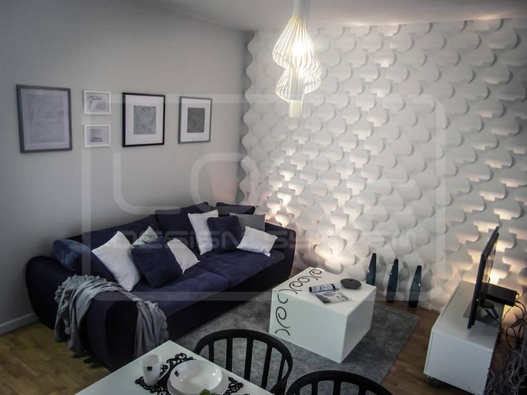 Panele Dekoracyjne 3D - Loft Design System - model Rain Drop: styl , w kategorii  zaprojektowany przez Loft Design System,Nowoczesny