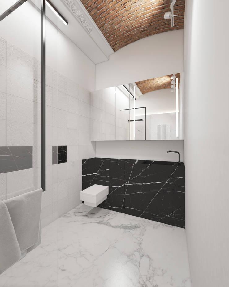 łazienka: styl , w kategorii  zaprojektowany przez living box