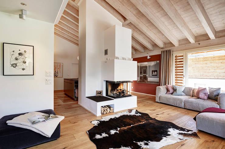 Sala de estar  por Ross Woodhall Images