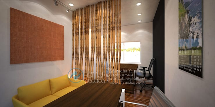 Interior projects:  Study/office by ARY Studios