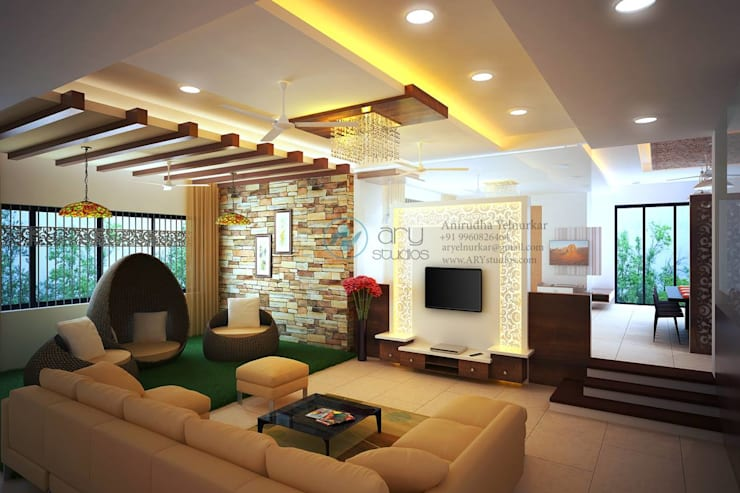 Interior projects:  Living room by ARY Studios