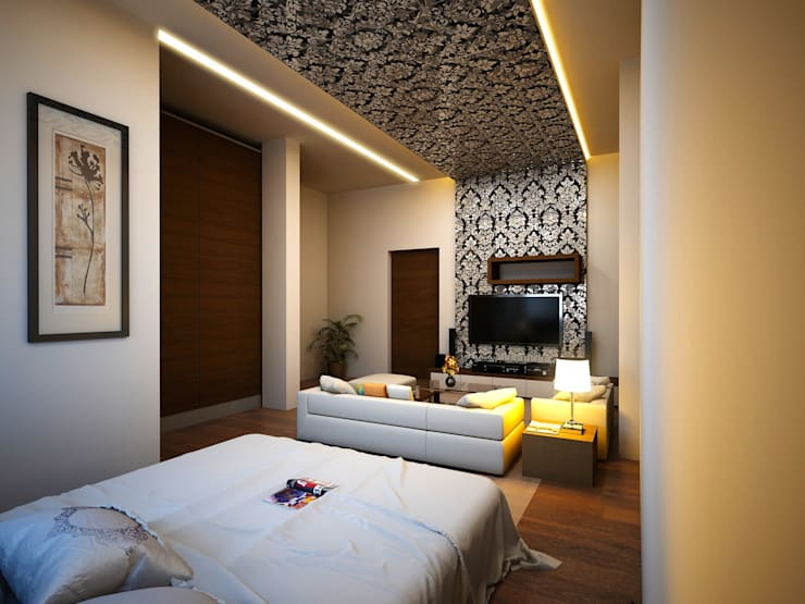 Interior projects: modern Bedroom by ARY Studios