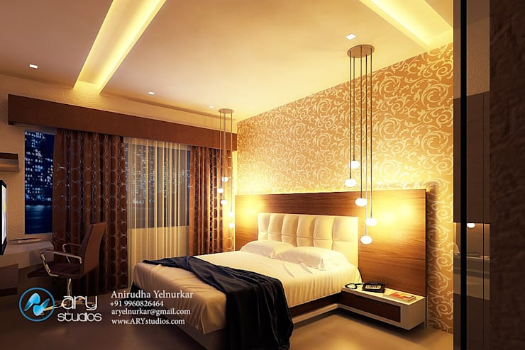 Interior projects:  Bedroom by ARY Studios