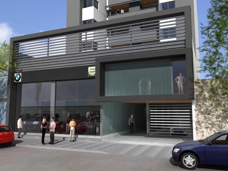 TORRE BV de VILARRODONA ARQUITECTOS Moderno