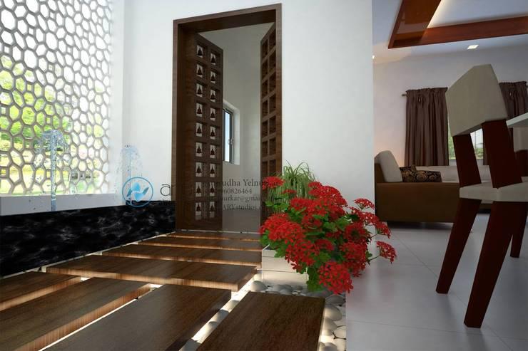 Villa Project:  Corridor & hallway by ARY Studios