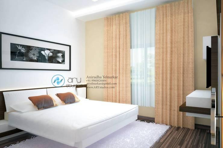 Villa Project:  Bedroom by ARY Studios