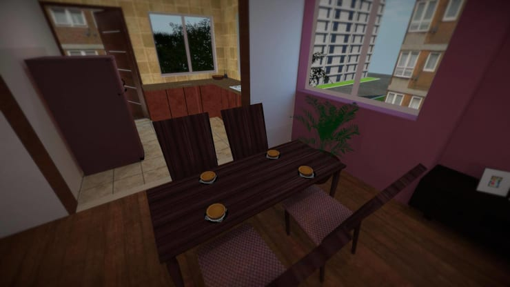 Apartment:  Dining room by ARY Studios
