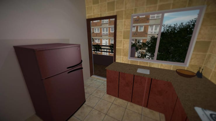 Apartment:  Kitchen by ARY Studios