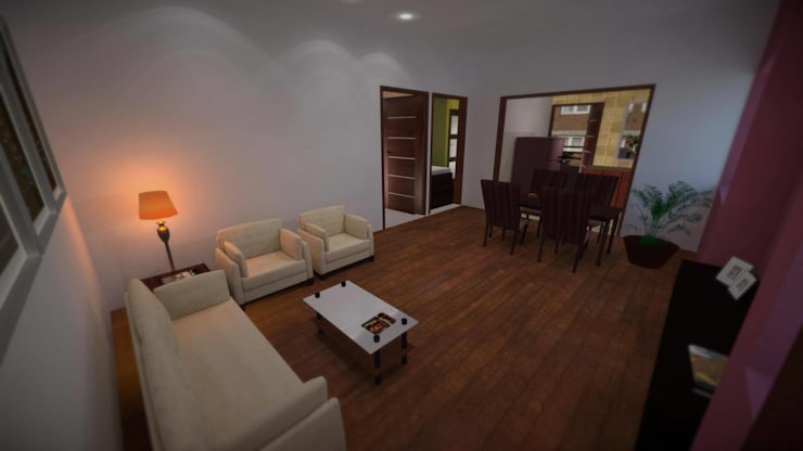 Apartment:  Living room by ARY Studios