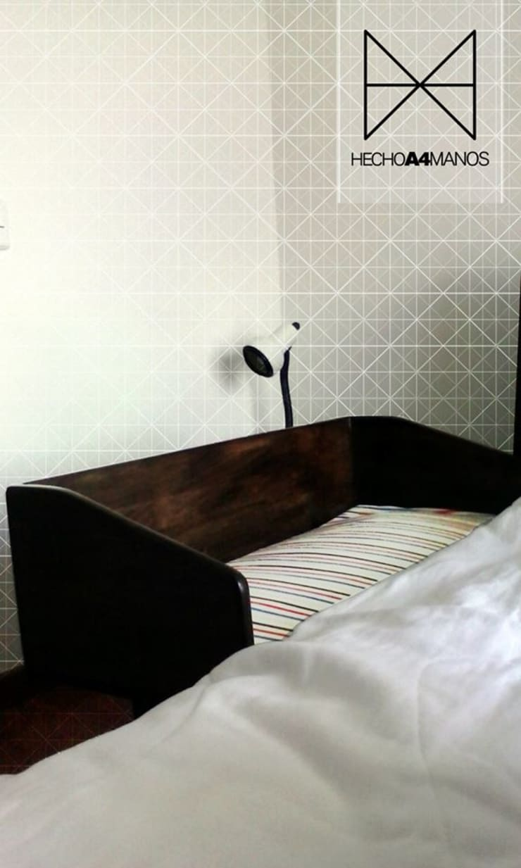 Cama-Silla Marty 2014: Hogar de estilo  por Hecho A4 Manos