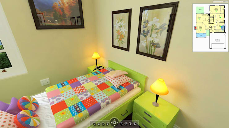 Residential project: modern Nursery/kid's room by ARY Studios