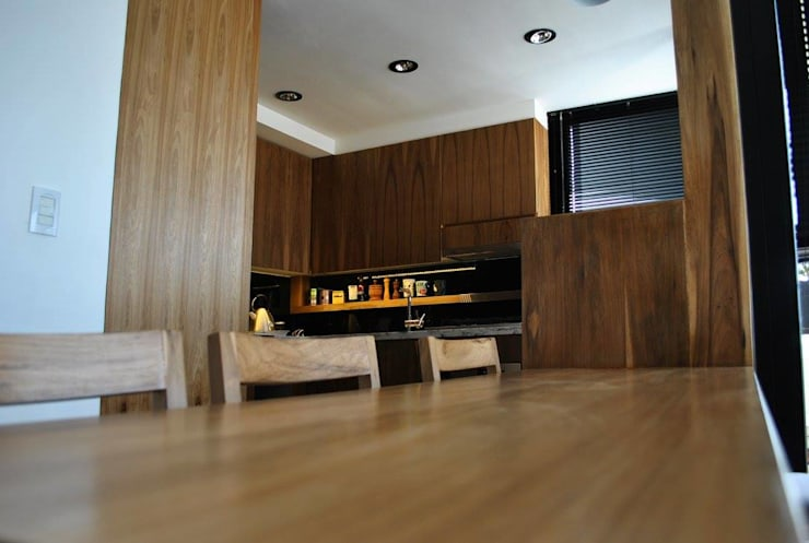 modern Living room by T + T Arquitectos