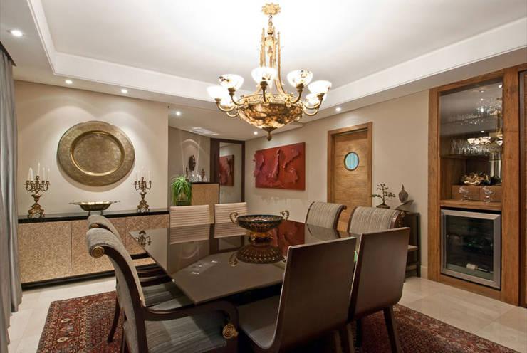 Projetos Residenciais: Salas de jantar  por Priscila Gabrielly Designer de Interiores,Moderno