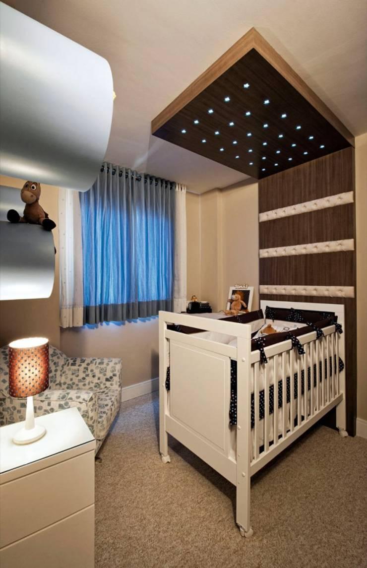 Projetos Residenciais: Quarto infantil  por Priscila Gabrielly Designer de Interiores,Moderno