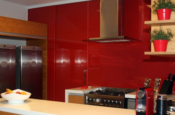 Apartamento JAG: Cozinhas  por Ana Padilha Arquitetura,Moderno