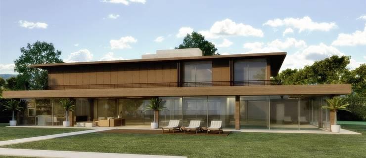 Projeto: Casas  por Adriano Marconato Arquitetura e Planejamento,