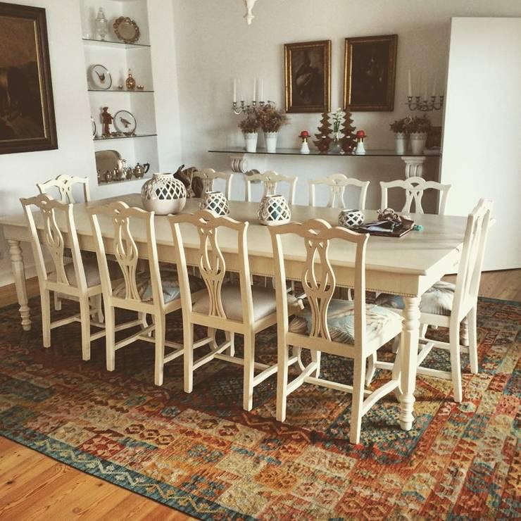 Interiores kilim: Sala de jantar  por kilim.pt
