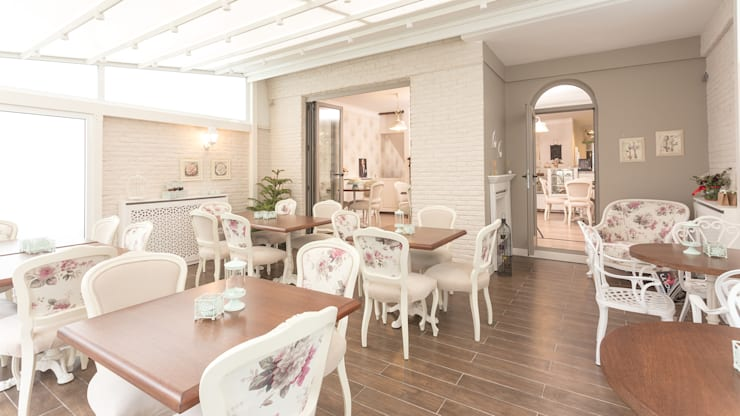 Treso İç Mimarlık – Cafe Bi'Kavanoz:  tarz Yeme & İçme, Kırsal/Country