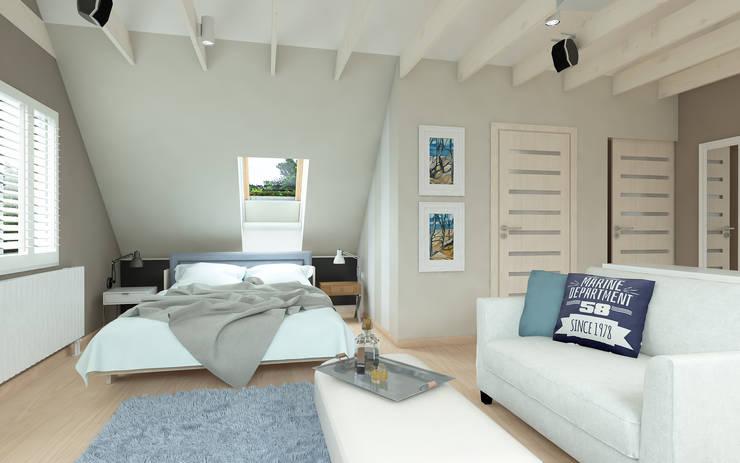 Chambre de style de style Méditerranéen par malee