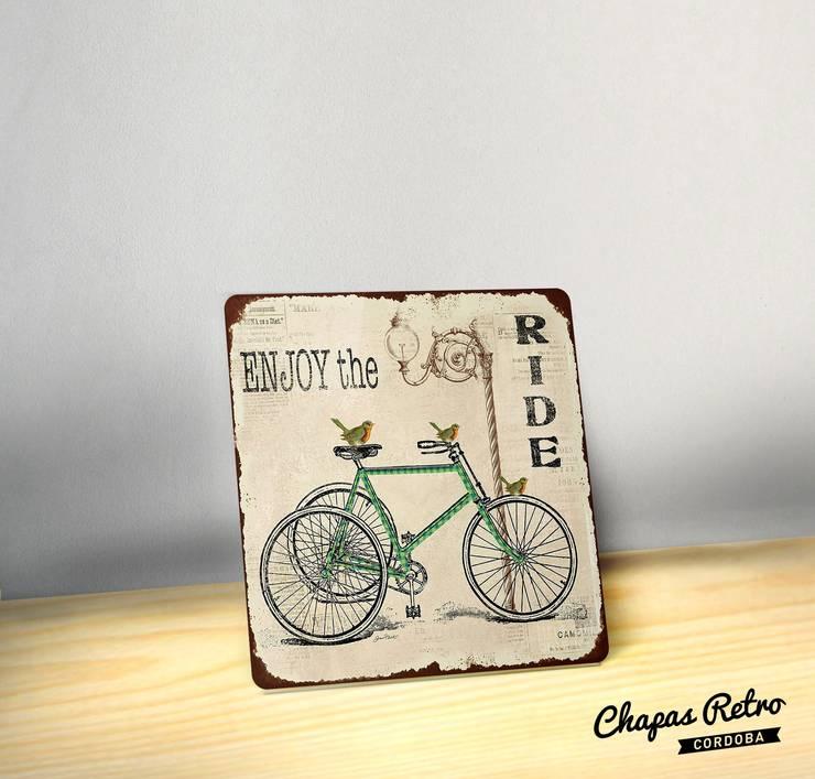 Chapas Vintage: Hogar de estilo  por Chapas Retro,