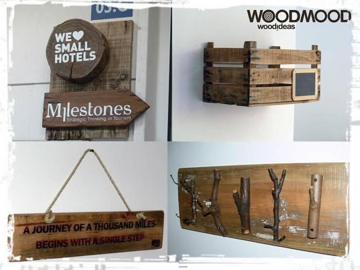 We love Small Hotels:   por WoodMood,Rústico