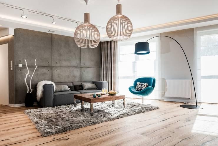 Mieszkanie w Gdańsku: styl , w kategorii Salon zaprojektowany przez Arte Dizain. Agnieszka Hajdas-Obajtek
