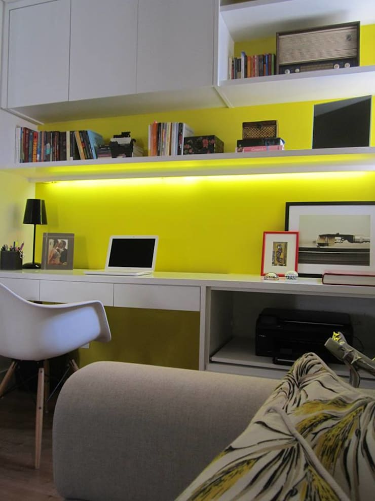 projeto: Escritórios  por Patrícia Ribeiro arquitetura + interiores,