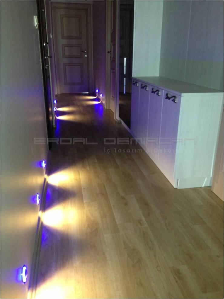 Erdal Demircan İç Tasarım ve Dekorasyon – Erdal Demircan İç Tasarım ve Dekorasyon:  tarz Koridor, Hol & Merdivenler