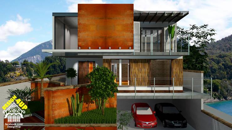 Aço Corten + Demolição: Casas  por Design4Up