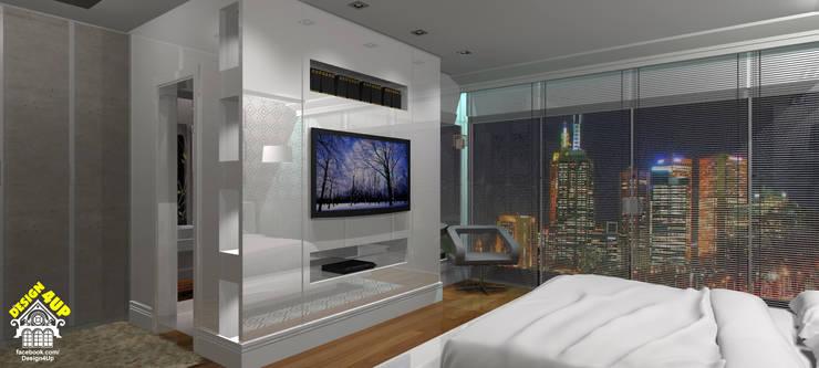 Ladrilho Hidráulico… no Dormitório???: Quartos  por Design4Up