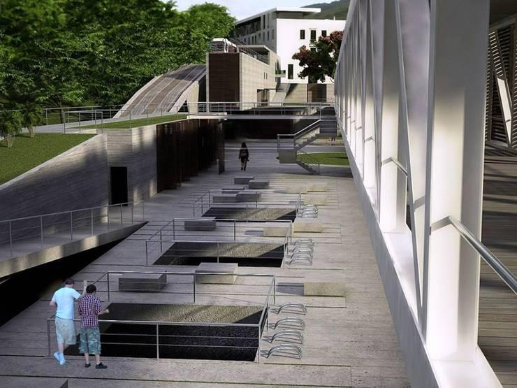 CONCURSO HOTEL PAINEIRAS:   por RECIFEBERLIN  Arquitetura e Paisagismo
