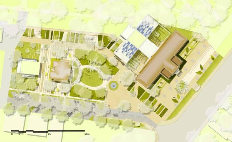 CONCURSO MUSEU DO MEIO AMBIENTE:   por RECIFEBERLIN  Arquitetura e Paisagismo