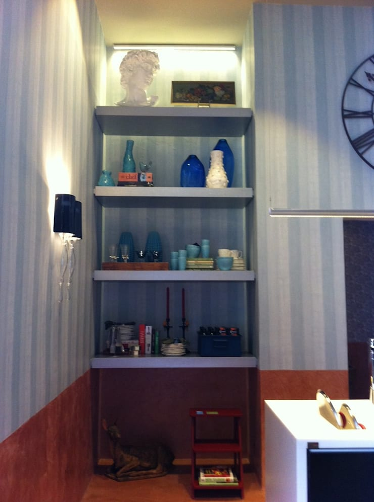 CASA COR 2012 – COZINHA GOURMET: Cozinhas  por AMMA PROJETOS