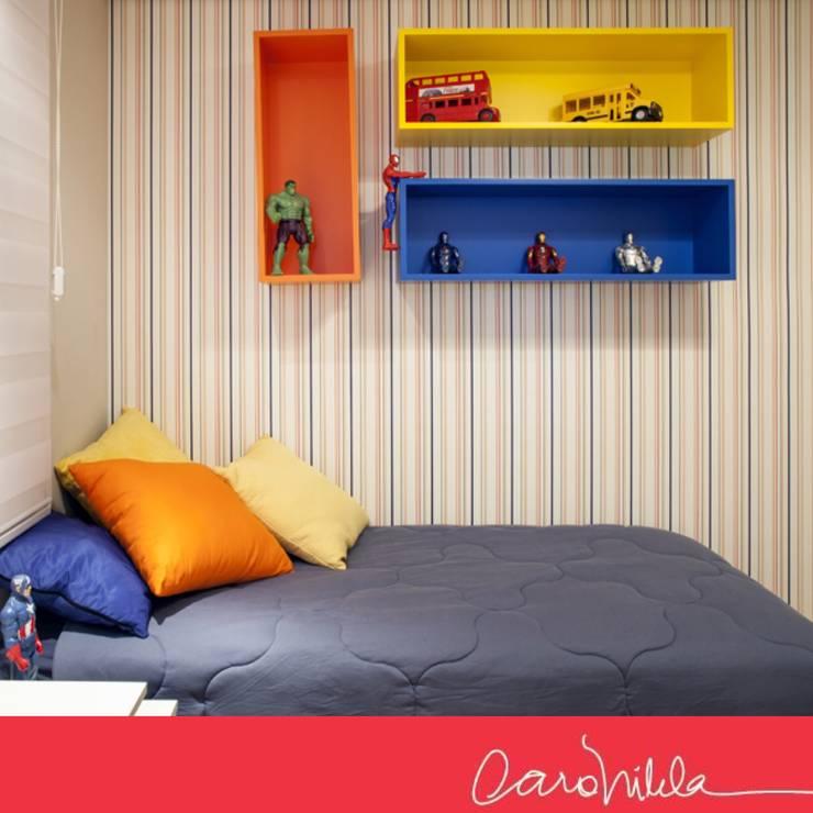 Sofisticado e Integrado:   por Carol Vilela Arquitetura e Design