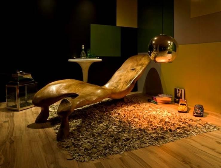 Projeto: Salas de estar  por alexandre chaguri arquitetura