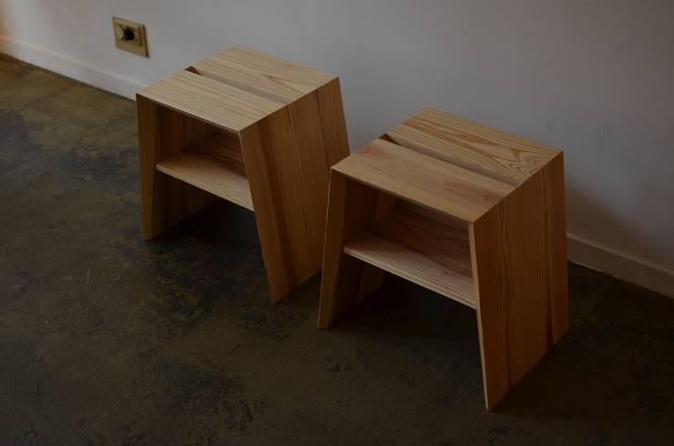 de ROIRO (ANGRAPH Co.,Ltd.) Minimalista Madera Acabado en madera