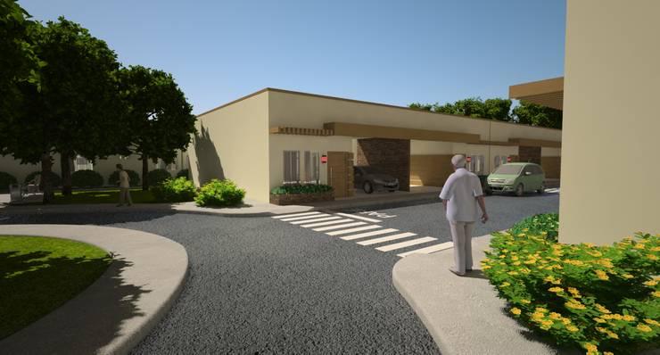 Centro de Convivência para Idosos:   por HM Arquitetura e Engenharia,