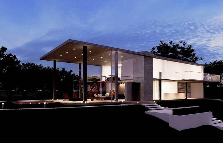 Casa EM: Casas  por Aonze Arquitetura