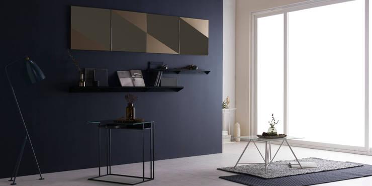 FIABA Livingroom: Fiaba (피아바)의  거실